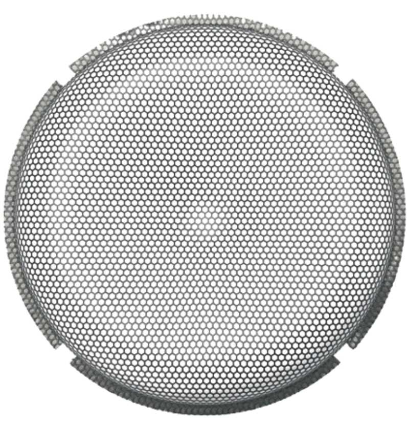 P2P3G-10 – 10″ Stamped Mesh Grille Insert